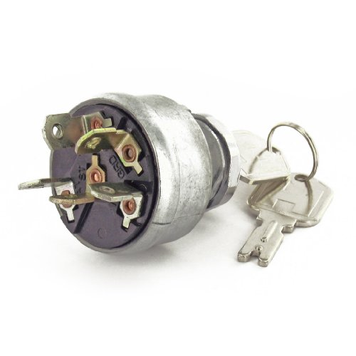 Pollak 31-267 3 Position Ignition Starter Switch with Momentary Start and Universal Type Die-Cast Housing (Universal Momentary Switch)