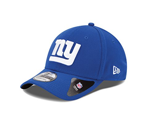 New York Giants Cap (NFL New York Giants Team Classic 39THIRTY Stretch Fit Cap, Medium/Large, Blue)