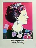 Edward Kurstak Gallery Queen Margrethe II of Denmark by Andy Warhol