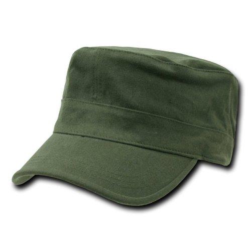 Green Military Cap - 6