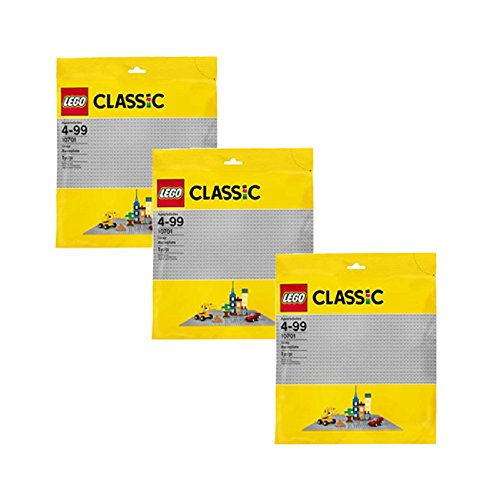 LEGO 3 Base Plate 15 x 15 Inch Platform (Pack of Three)