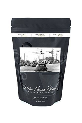 Seattle, Washington - View of White Center Shopping District (8oz Whole Bean Small Batch Artisan Coffee - Bold & Strong Medium Dark Roast w/ - Shopping Seattle Centre