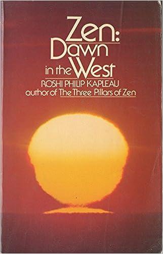 Kapleau Zen Dawn cover art