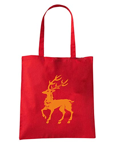 Shopper Borsa Rossa FUN0297 STAG DECEMBER Bwqwpd0