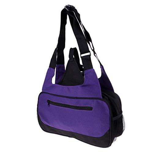 Dolity Large Yoga Mat Bag Compact Shoulder Pack, Fit for Travel/Fitness/Sports, Adjustable Strap