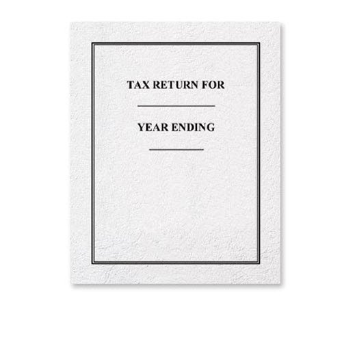 EGP Year End Tax Folder (Grey)