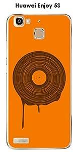 Carcasa Huawei Enjoy 5s Design Vinyl todo cálido Techno