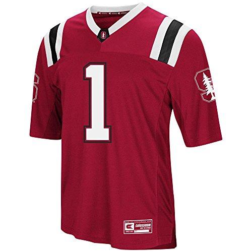 Colosseum Mens Stanford Cardinal Football Jersey - M