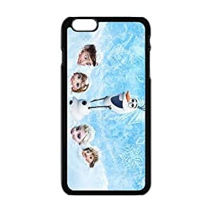 Cool Painting Frozen Princess Elsa Anna Kristoff Olaf Hans Cell Phone Case for Iphone 6 Plus