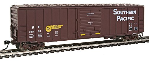 50' ACF Exterior Post Boxcar - Ready to Run -- Southern Pacific(TM) #12894 (Boxcar Red, yellow DF - Boxcar Acf