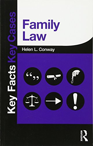 Family Law (Key Facts Key Cases)