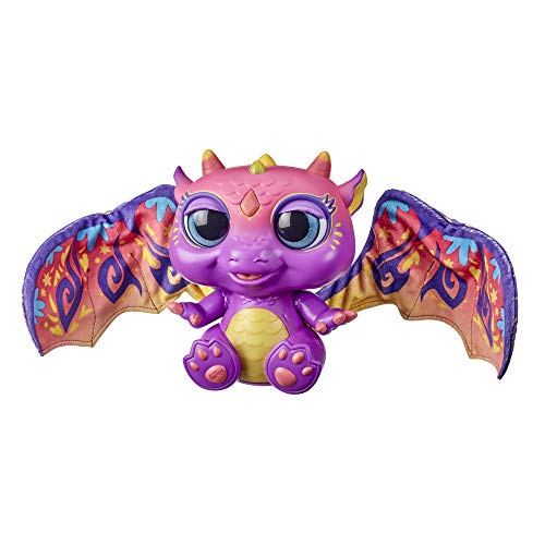 Image of furReal Moodwings Baby Dragon Interactive Pet Toy, 50+ Sounds & Reactions, Ages 4