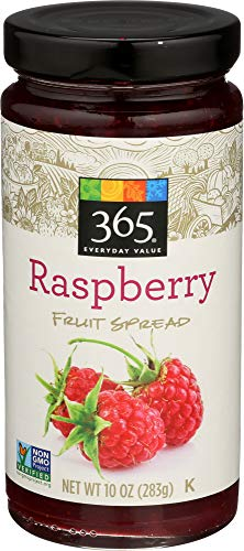 365 Everyday Value, Raspberry Fruit Spread, 10 - Spreads Sugar Added Fruit