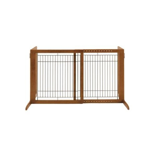 richell-wood-freestanding-gate-high-small-autumn-matte-finish