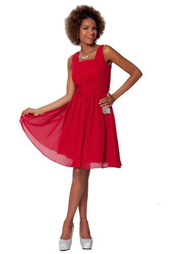 dama baile de vestidos c¨®ctel Escarlata de SEXYHER COJ1519 con Encanto Gasa nRU7qw8aTx