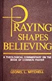 Praying Shapes Believing : A Theological Commentary on the Book of Common Prayer, Mitchell, Leonel L., 086683494X