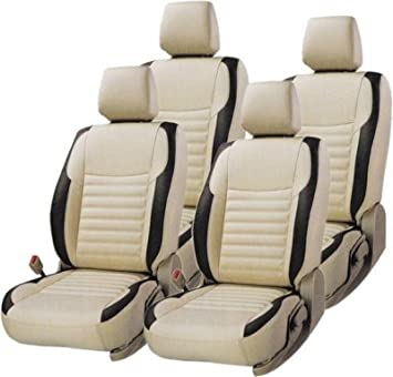 Khushal Leatherite Car Seat Covers Premium Quality Designer Front And Back Cover Set For Hyundai