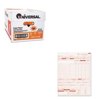 KITPRB05108UNV21200 - Value Kit - Paris Business Products UB04 Claim Forms (PRB05108) and Universal Copy Paper (UNV21200)