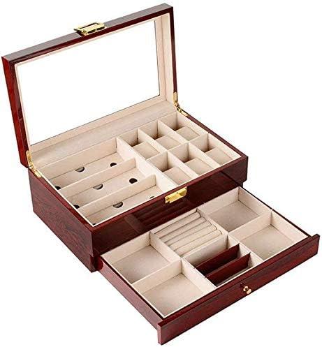 Cajas para relojes Mujer Hombre Gafas de Sol de Moda Caja de Almacenamiento Caja de exhibición de Las Gafas de Sol Caja Multi-Celular Caja de Joyería HUYP: Amazon.es: Hogar