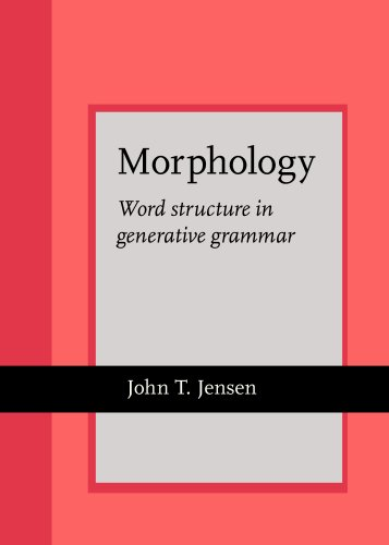 Morphology: Word structure in generative grammar (Current Issues in Linguistic Theory)
