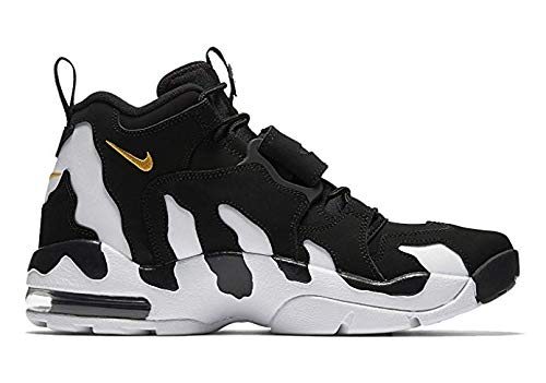 Nike Air DT Max 96 Men's High Top Sneakers, Black/Varsity Maize-White, 11.5 M US