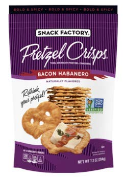 Snack Factory Deli Style Crunchy Pretzel Cracker Crisps, 8 Flavor Variety Pack, 7.2 Ounce Bags (Pack of 16) by Snack Factory (Image #2)