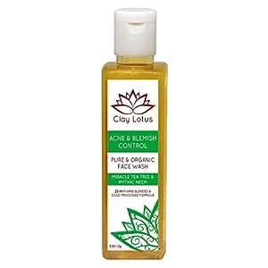 Amazon.com: Organic Facial Cleanser for Acne Prone, Oily