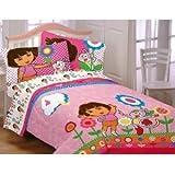 Dora the Explorer Cheerful Bloom Full Comforter