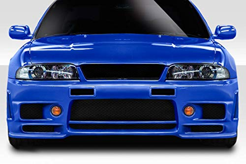 Duraflex Replacement for 1995-1998 Nissan Skyline R33 2DR / 4DR N-1 Front Bumper Cover - 1 - 2dr R33 Duraflex Body