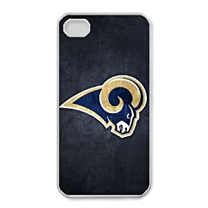 iPhone 4,4S Phone Cases NFL St. Louis Rams Cell Phone Case TYF678854