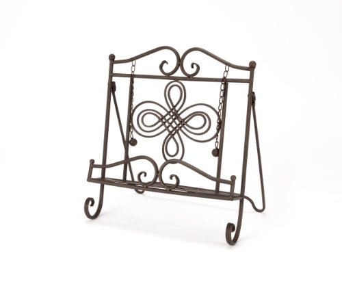 Design Metal Stand (Tripar Swirl Design Cookbook Stand)