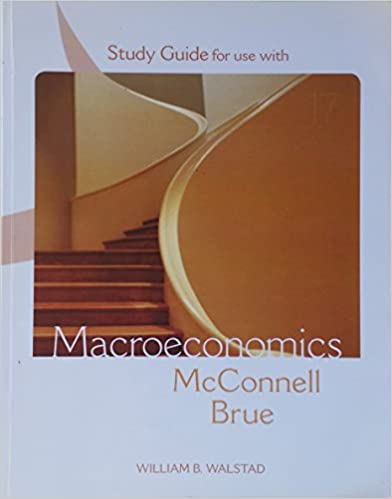 Study Guide For Use With Macroeconomics Principles Problems