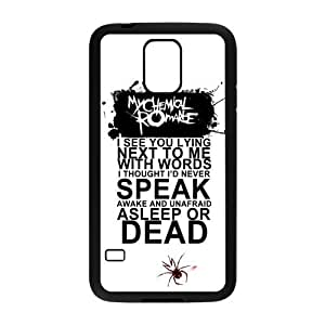 S5 Hard Case, MCR My Chemical Romance Slim Fit Hardshell Snap On Case Cover for Samsung Galaxy S5