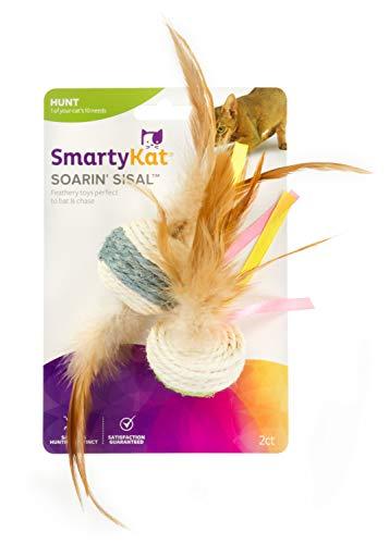 SmartyKat Soarin' Sisal Ball & Sisal Dart