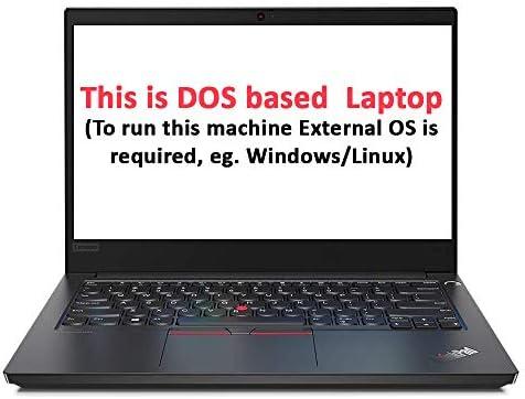 Lenovo ThinkPad E14 (4GB RAM/ 1TB HDD/ DOS/ Black/ 1.69 kg), 20RAS0D800