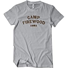 Camp Firewood 1981 Mens Funny T-Shirt Tee Wet Hot Series American Movie Summer
