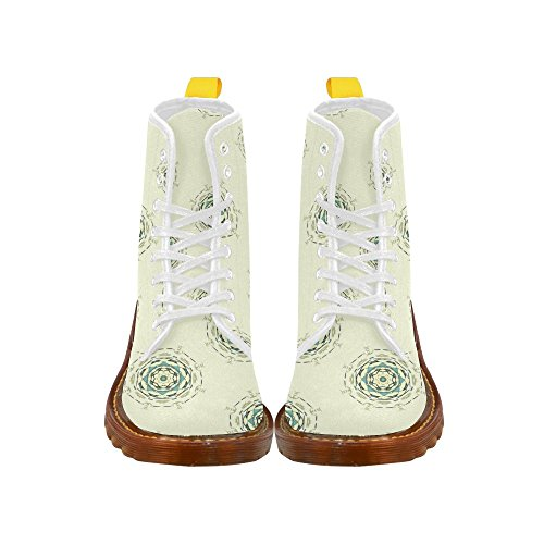 low priced 2963f 41575 ... Leinterest Cercle Martin Bottes Mode Chaussures Pour Femmes ...