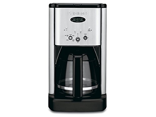 Cuisinart DCC-1200 Brew Central 12 Cup Programmable Coffeemaker, Black/Silver Ad Coffee Cup
