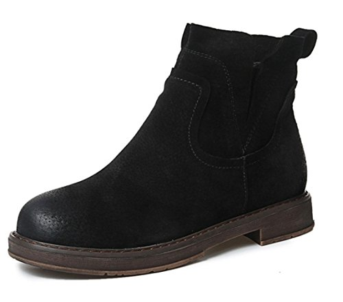 Martin female 5 boots UK4 5 7 US6 MEI boots black autumn female CN37 khaki boots 5 women EU37 light boots qUO05twn0