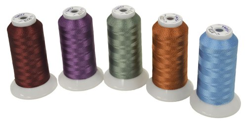 Superior Threads Twist #40 Embroidery Thread 2000 yds Cone; Set of 25 colors 108-02-SET by Superior Threads