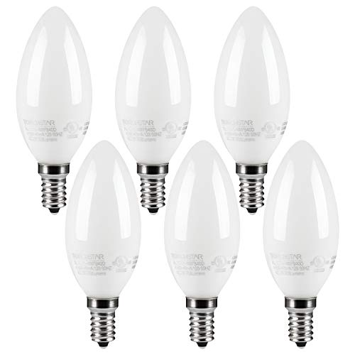 led candelabra bulb cool white - 6