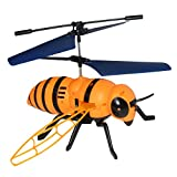 DSstyles Drones Hand-Controlled Bee Flying Toys,Intelligent Flight Toy 2 in 1 Remote Control Induction Charge Flying Toy Random Color