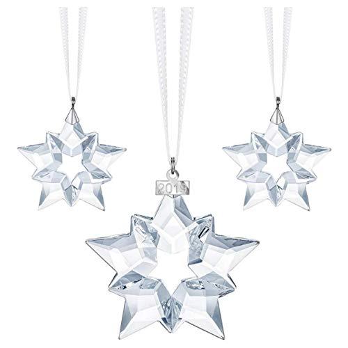 SWAROVSKI Christmas Set, A.E. 2019 Ornament, Crystal