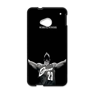 Hoomin Lebron James Cool Design HTC One M7 Cell Phone Cases Cover Popular Gifts(Laster Technology)