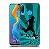 Head Case Designs Soccer Extreme Sports Soft Gel Case Compatible for Huawei P30 Lite
