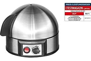 Clatronic EK 3321EDS Cuece Huevos de acero inoxidable, 400 W, Acero inoxidable, Negro/Acero Inoxidable