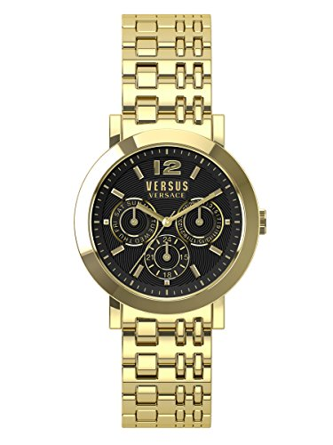 Versus-by-Versace-Unisex-SOR090015-MANHASSET-Gold-Ion-Plated-Bracelet-Watch