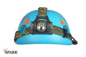 Spark linterna de cabeza SX5XM-L T6CW LED Cabeza lámpara