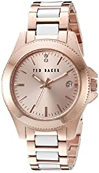 Ted Baker Women's TE4099 Classic Charm Analog Display Japanese Quartz Rose Gold Watch