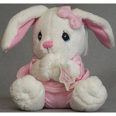 [Precious Moments Prayer Doll - Bunny] (Precious Moments Angel Doll)